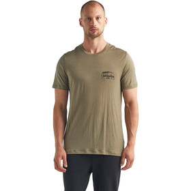 Icebreaker Tech Lite SS Crew Shirt The Good Life Men, flint